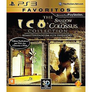 Ico/Shadow Of The Colossus Collection - PS3 ( USADO )
