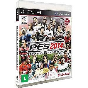 Pro Evolution Soccer 2014 - PS3 ( USADO )