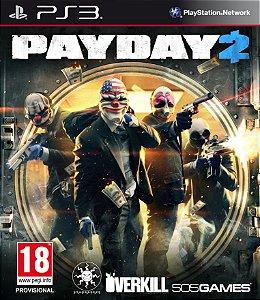 Payday 2 - Ps3 ( USADO )