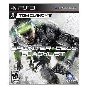 Tom Clancy's Splinter Cell: Blacklist - PS3 ( USADO )