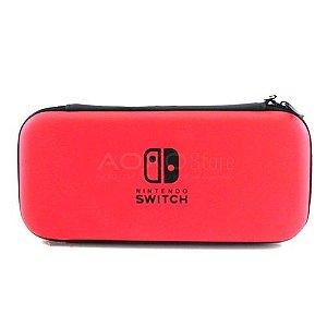 Case Vermelha - Nintendo Switch ( USADO )