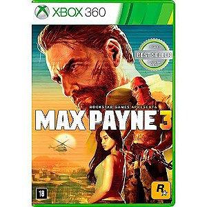Max Payne 3 - Xbox 360 ( USADO )