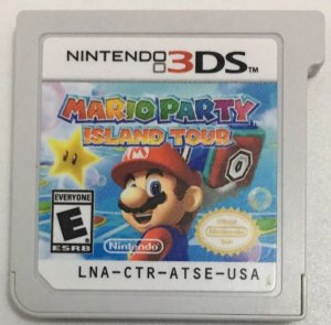 Mario Party Island Tour - 3DS ( Usado Só o cartucho )
