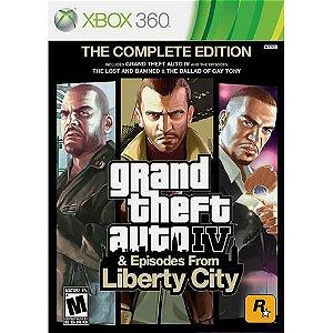 GTA - Grand Theft Auto IV & Episodes From Liberty City - XBOX 360 ( USADO )