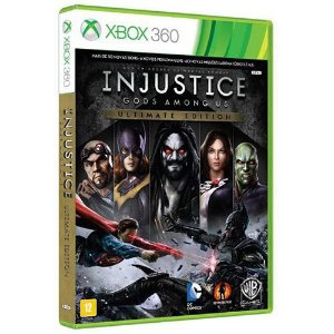 Injustice - Gods Amoung us - XBOX 360 ( USADO )