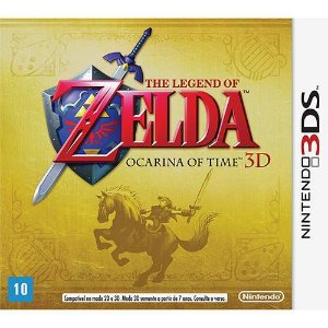 The Legend of Zelda: Ocarina of Time - Nintendo 3DS ( USADO )