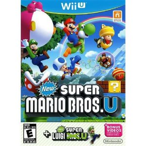 New Super Mario Bros. U + New Luigi U - Wii U ( USADO )
