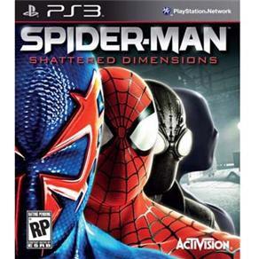 Spider-Man Shattered Dimensions - PS3 ( USADO )