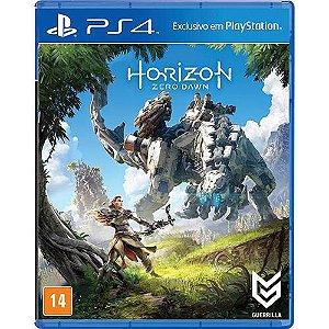 HORIZON ZERO DAWN - PS4 ( USADO capa de papelao )