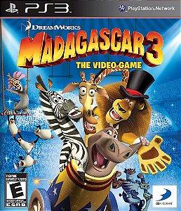 Madagascar 3 The Video Game - PS3 ( USADO )