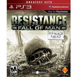RESISTANCE FALL OF MAN - PS3 ( USADO )