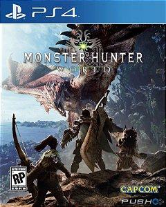 Monster Hunter World - PS4 ( USADO )