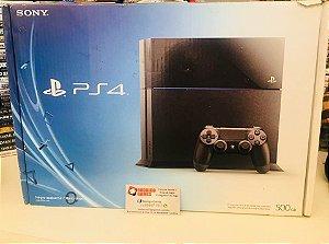 PS4 Semi novo 500GB