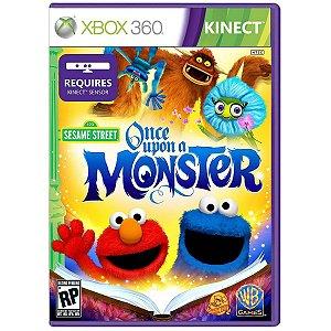 Vila Sesamo Era Uma Vez Um Monstro - Xbox 360 ( USADO )