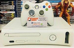 Console - Xbox 360 Arcade Desbloqueado ( USADO )