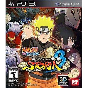Naruto Shippuden Ultimate ninja Storm 3 - Ps3 ( USADO )