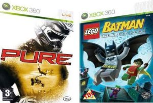 Lego Batman + Pure  Xbox 360 ( USADO )