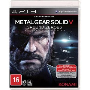 Metal Gear Solid V Ground Zeroes - PS3 ( USADO )