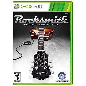 Rocksmith (Apenas Jogo) - Xbox 360 ( USADO )