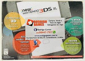 Console New Nintendo 3DS XL Desbloqueado + Cartão 32GB  ( USADO )