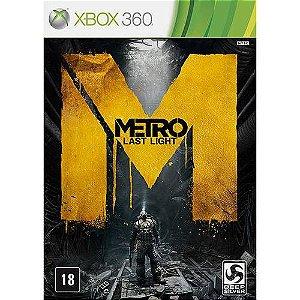 Metro: Last Light Limited - XBOX 360 ( USADO )