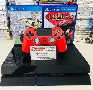 Console PS4 Semi novo 500GB com 2 Jogos ( USADO )