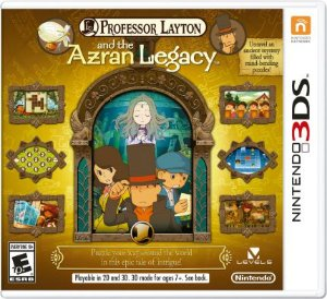 Professor Layton And The Azran Legacy - 3Ds ( USADO )