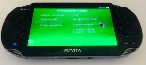 Console Ps Vita + Cartão de 4GB + Case ( USADO )