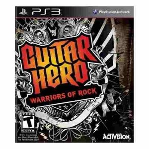 Guitar Hero Warriors of Rock - Ps3 ( USADO )
