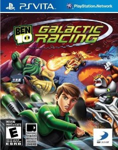 Ben 10 Galactic Racing - Ps Vita ( USADO )