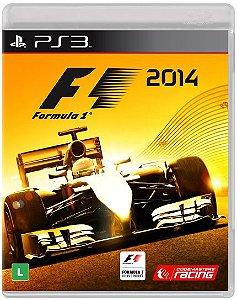 Formula 1 2014 - PS3 ( USADO )