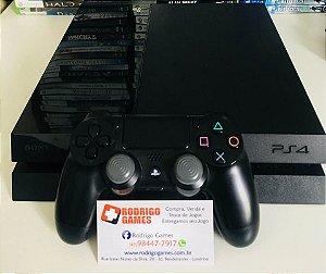 Console PS4 Semi novo 500GB com 2 Jogos + Cooler externo ( USADO )