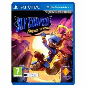 Sly Cooper Thieves In Time - Ps vita ( USADO )
