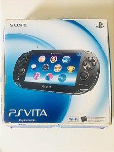 Ps Vita + Cartão de 4GB + 1 Jogo ( USADO )