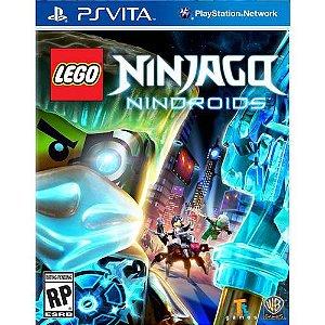 Lego Ninjago Nindroids - Ps vita ( USADO )