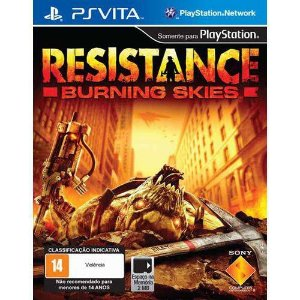 Resistance Burning Skies - Ps vita ( USADO )