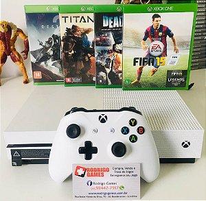 Console Xbox one S 500Gb com 4 Jogos ( USADO )