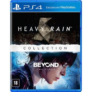 THE HEAVY RAIN & BEYOND TWO SOULS COLLECTION - PS4 ( NOVO )