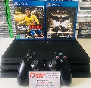 Console - Ps4 Pro 1TB com 2 Jogos ( USADO )
