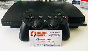 Console - Ps3 160GB com 5 Jogos ( USADO )