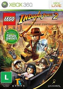 Lego Indiana Jones 2: The Adventure Continues - Xbox 360 ( USADO )