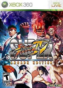 Super Street Fighter IV Arcade Edition - XBOX 360 ( USADO )