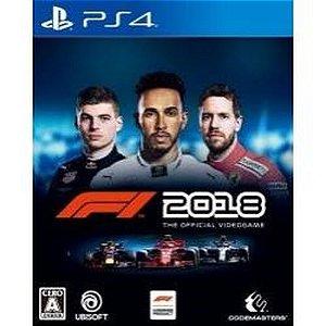Formula 1 2018 - F1 2018 - PS4 ( USADO )