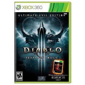 Diablo: Reaper Of Souls (ultimate Evil Edition) - Xbox 360 ( USADO )