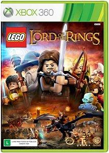 Lego Senhor Dos Anéis - Xbox 360 ( USADO )