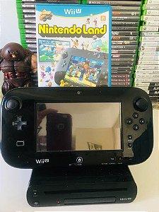 Console - Nintendo WIIU com 1 Jogo ( USADO )