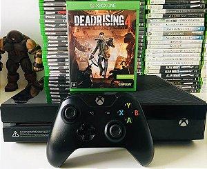 Console - Xbox one com 1 Jogo ( USADO )