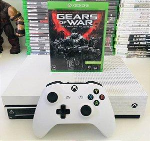 Console - Xbox One S 500GB com 1 jogo ( USADO )