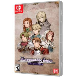 Mercenaries Saga Chronicles - Nintendo Switch ( NOVO )