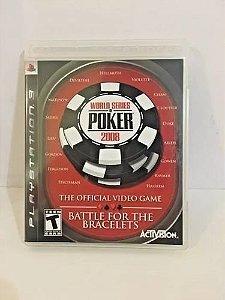 World Series of Poker 2008: Battle for the Bracelets - PS3 ( USADO )
